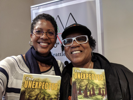 Helen Collier with Noni Ervin