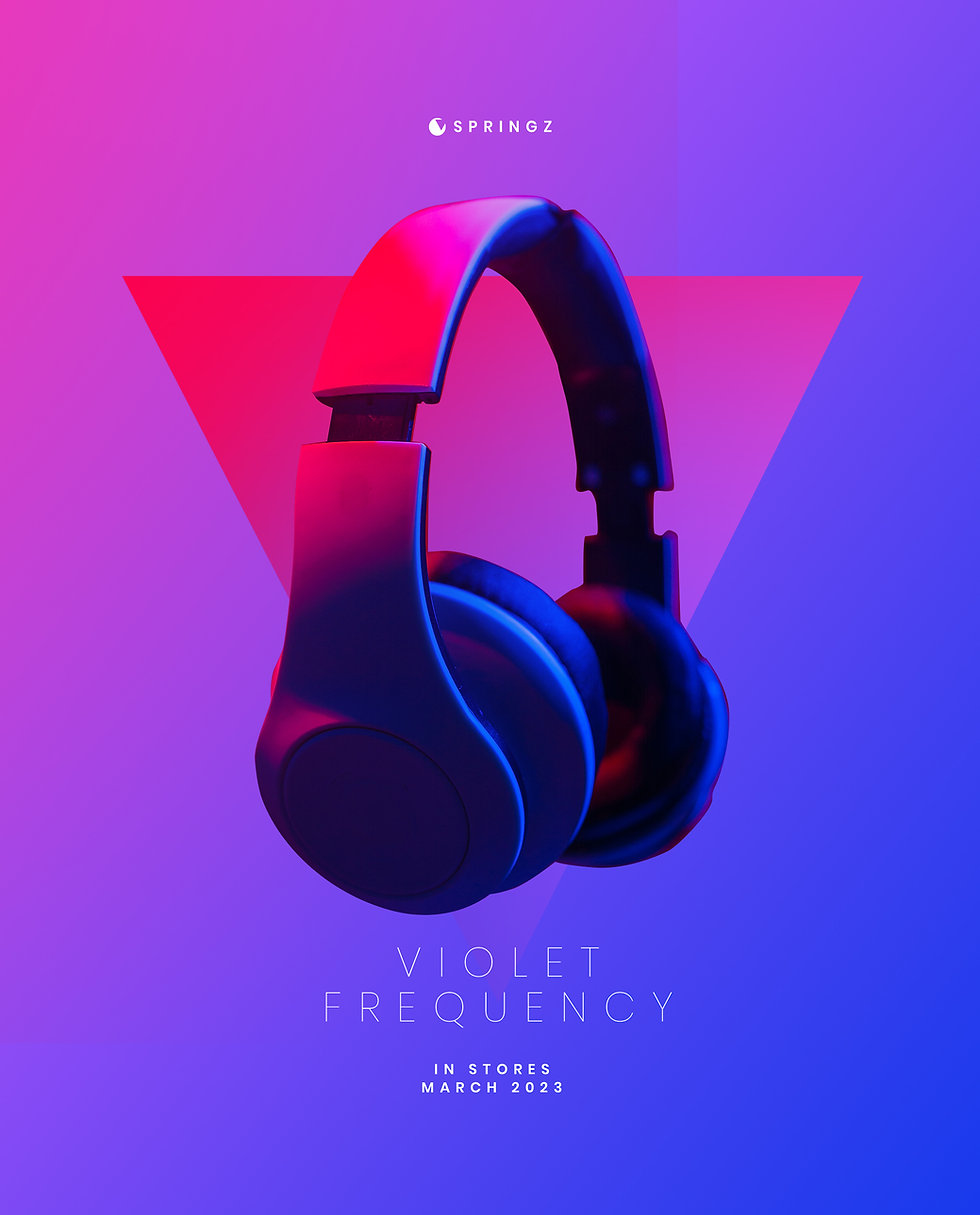 Headphones ad