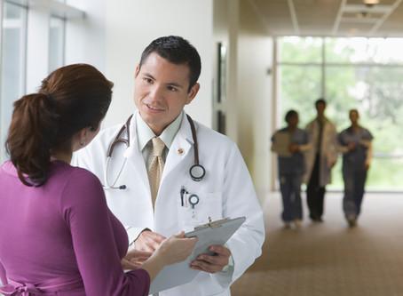 Christina visits local clinic