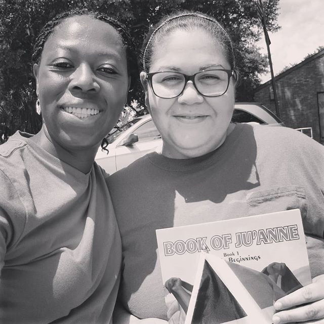 Ruth got her copy of #bookofjuanne #humb