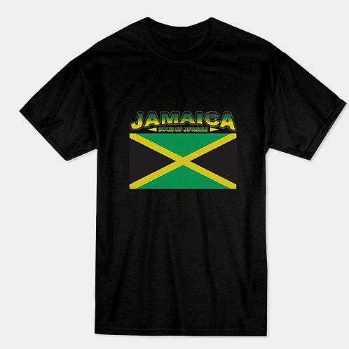 Jamaican Flag (Book of Ju'Anne) Unisex t- Shirt