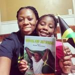My niece got her #copy of #bookofjuanne