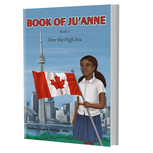 Book of Ju'Anne Over the High Sea (Book 2)