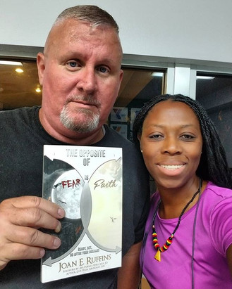 Ron got his #copy of my #book #theopposi