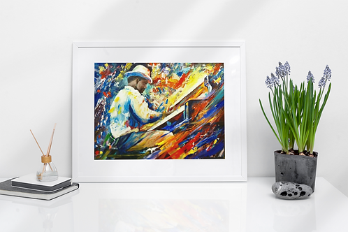 Jazz Man - Prints
