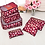 Wine Red Travel Packing Cubes
