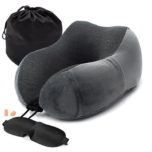 Memory Foam Travel Pillow