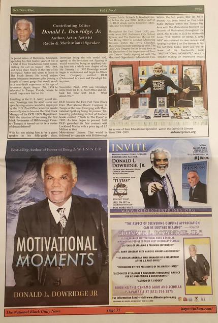 DLD National Black Unity News