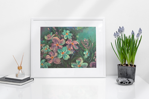 Forget Me Not - Prints