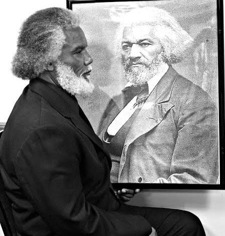 Frederick Douglass Impersonator