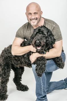 Hugging Dog - Harrison Forbes