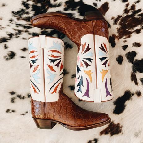 Alligator Cowboy Boot
