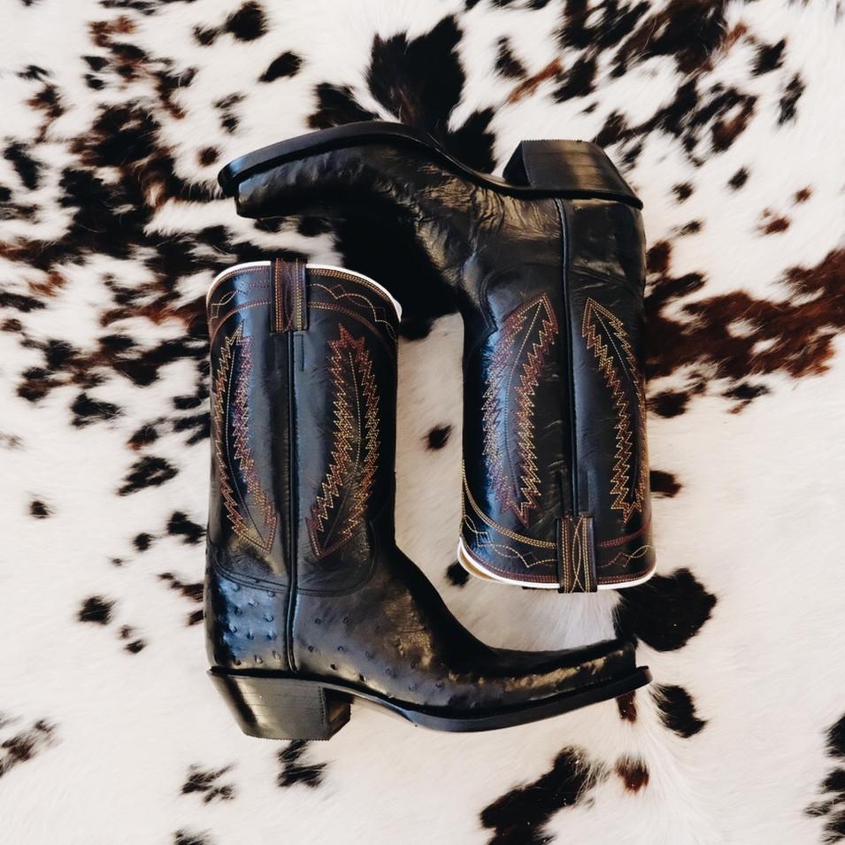 Mens Bespoke Cowboy Boot