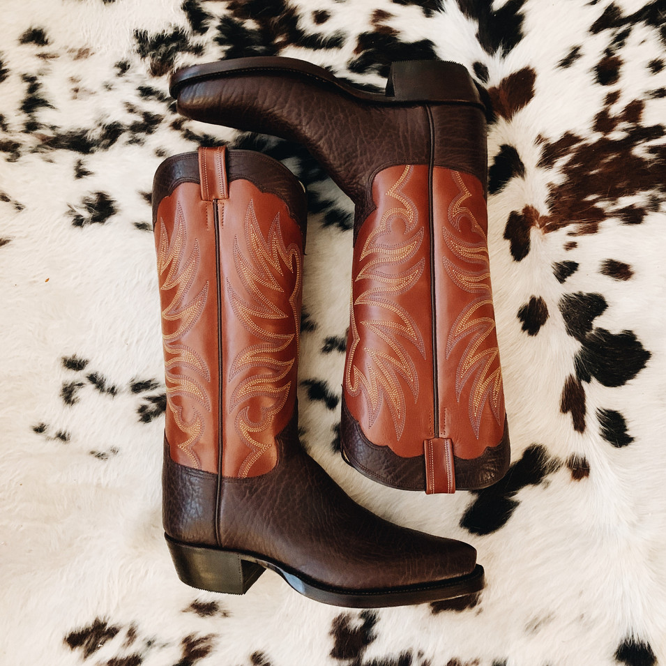 Handmade Cowboy Work Boot