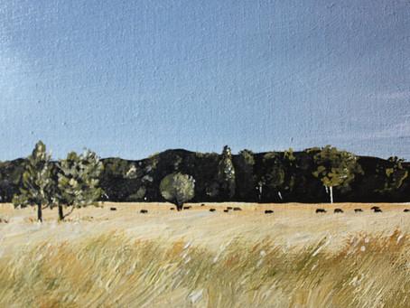Landscape Paintings- A Workshop by                  Matthew Begg