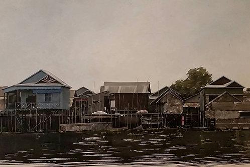 'Chong Kneas floating village'