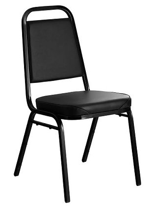 Lancaster Table & Seating Black Stackable Chair