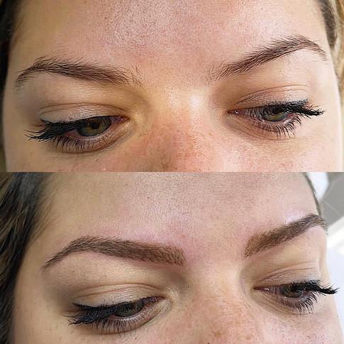 Pigmentation sourcils et épilation
