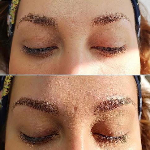 Micropigmentation des sourcils.