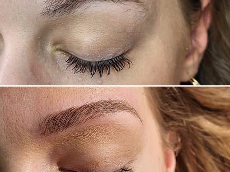 Micropigmentation sourcils.