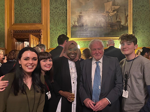 David Attenborough at the House of Lords