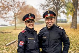 Streifenpolizisten I Polizeifotos I Cemera Photography