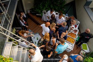 Buffet I Sky Event I Cemera Photography