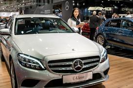 Mercedes Messeauftritt I Autoshow I Cemera Photography