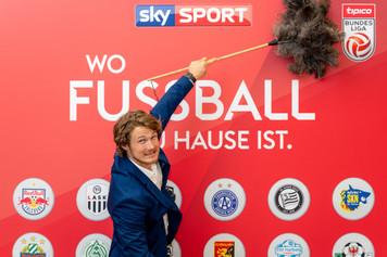 Abstauben I Sky Sport Event I Cemera Photography