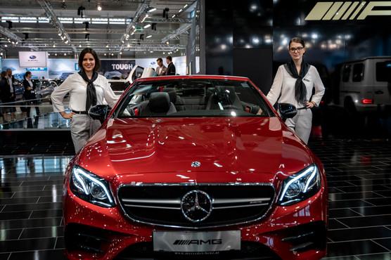 Mercedes Frauen I Autoshow I Cemera Photography