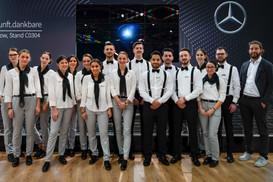 Mercedes Verkaufsteam I Autoshow I Cemera Photography