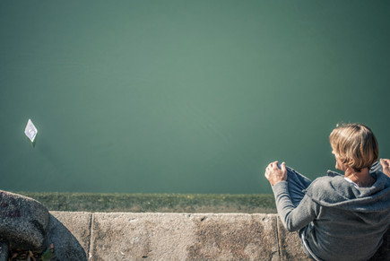 Dreiviertel Fluss I Cemera Photography