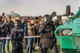 Schaulustige I Polizeifotos I Cemera Photography