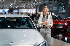 Mercedes Beratung I Autoshow I Cemera Photography