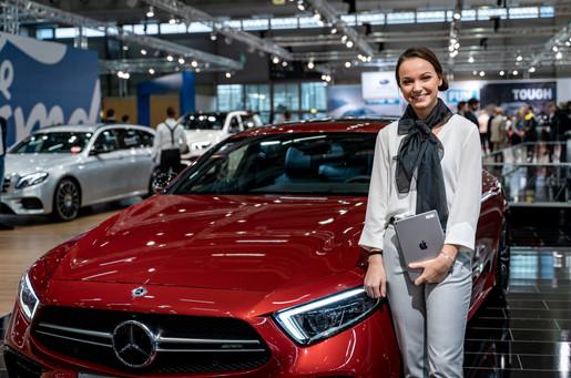 Mercedes Messe I Autoshow I Cemera Photography