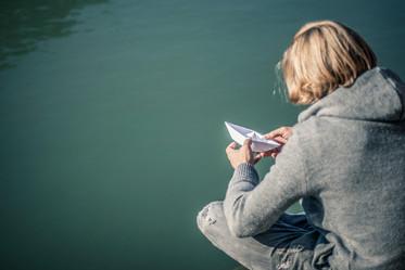 Der Mann mit Boot I Cemera Photography