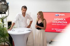 Monika Coupkova I Sky Sport Event I Cemera Photography