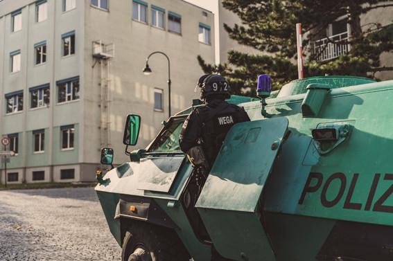 Vorrücken I Polizeifotos I Cemera Photography