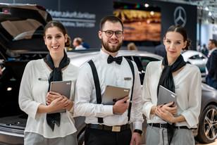 Mercedes Messeberatung I Autoshow I Cemera Photography