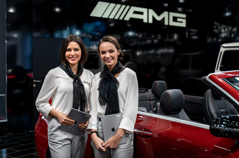 Mercedes Messehostess I Autoshow I Cemera Photography