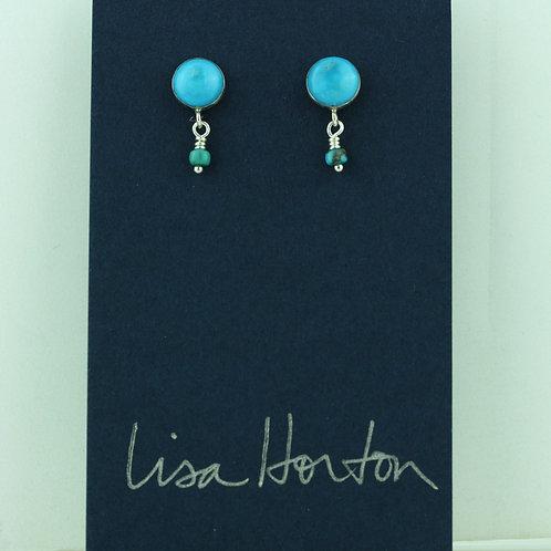 Turquoise with Turquoise Drop