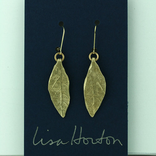 Large Leaf/ Bronze