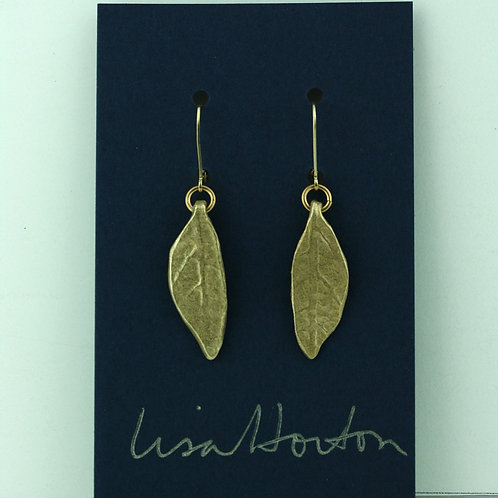 Small Leaf/ Bronze