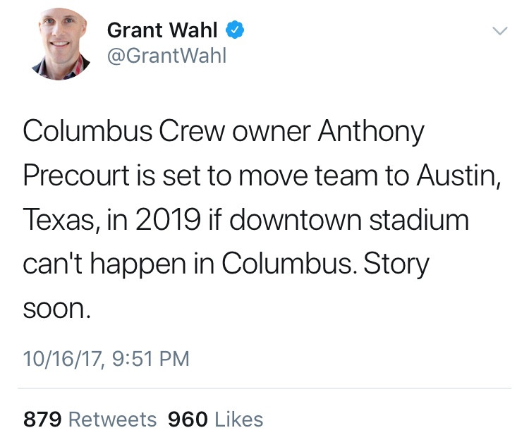 The tweet that shook the soccer community