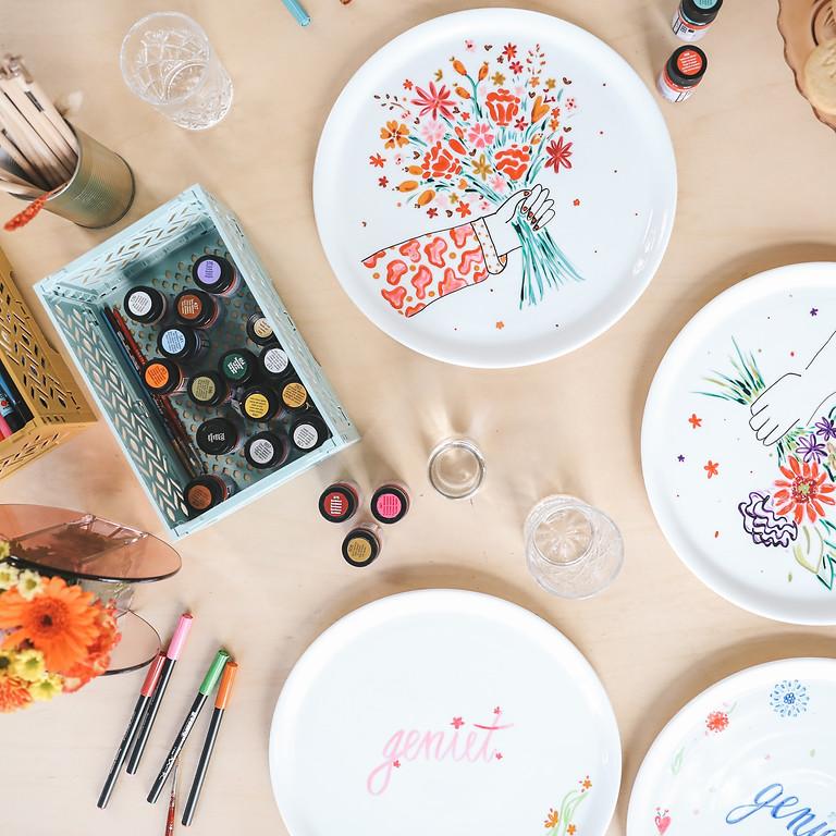 Porseleinschilderen - workshop