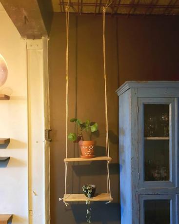DIY plantenschommel