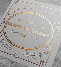 Invitations & Greetings