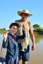 Piranha Fishing in Family | Pantanal Trackers Tours