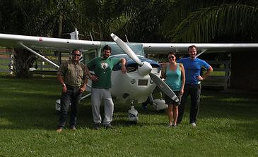 Julio's Cessna 182 Skylane | Pantanal Trackers Tours
