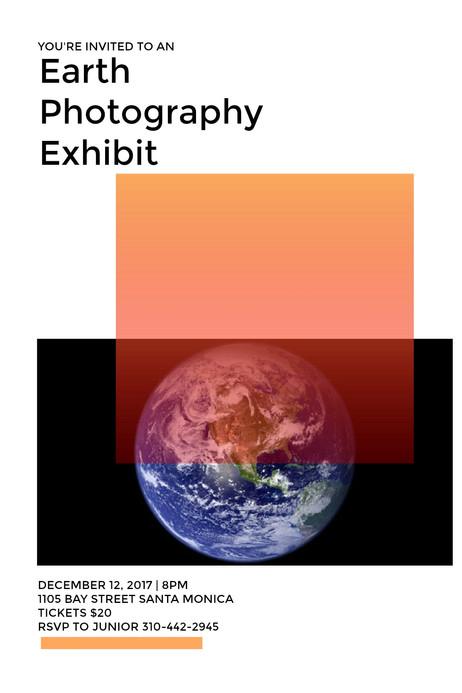 EARTH PHOTOG EXHIBIT